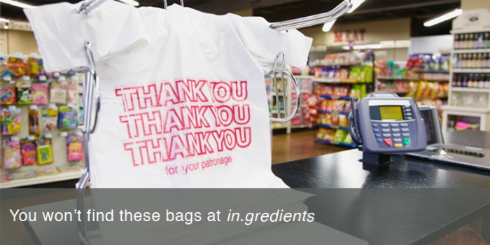 No Thanks to Plastic Bags