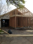 Early March - addition's in progress!