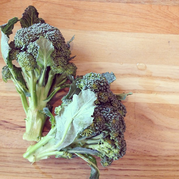 Daily Recipe: Braised Broccoli with Orange and Parmesan | in.gredients